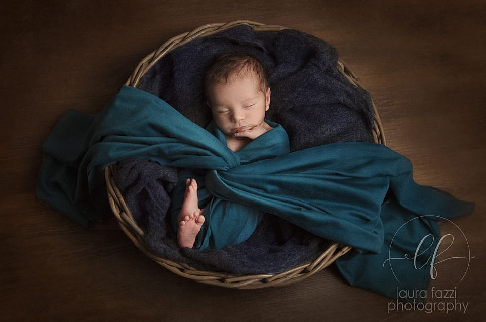 Newborn session - il piccolo Cristiano