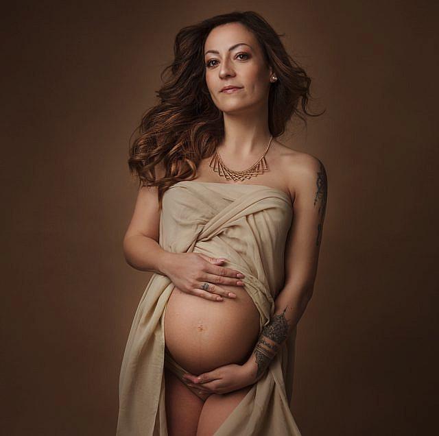 servizio fotografico ritratto gravidanza a Roma - Laura Fazzi