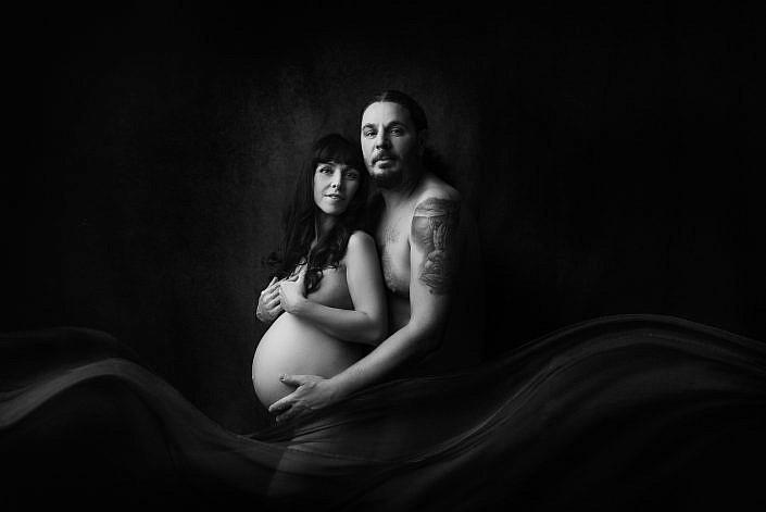 servizio fotografico ritratto gravidanza a Roma - © laura fazzi